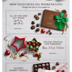 Godiva: HOURS LEFT: 50% Off Black Friday Sale + FREE Shipping
