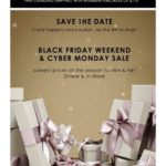 ECCO — Save the Date: Black Friday & Cyber Monday Savings