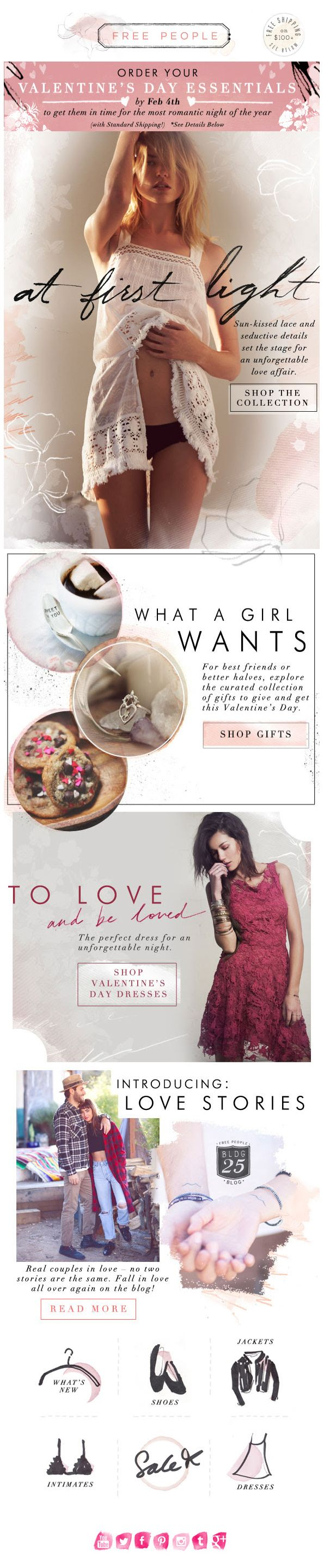 Free People : V-Day