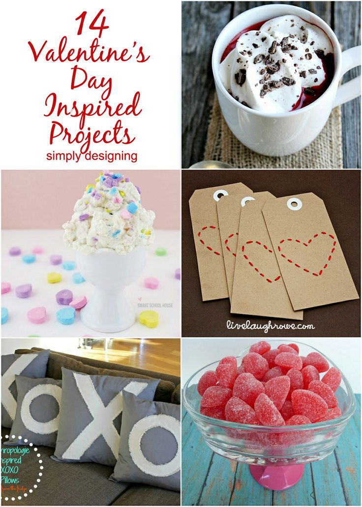 Valentine's Day Inspired Projects